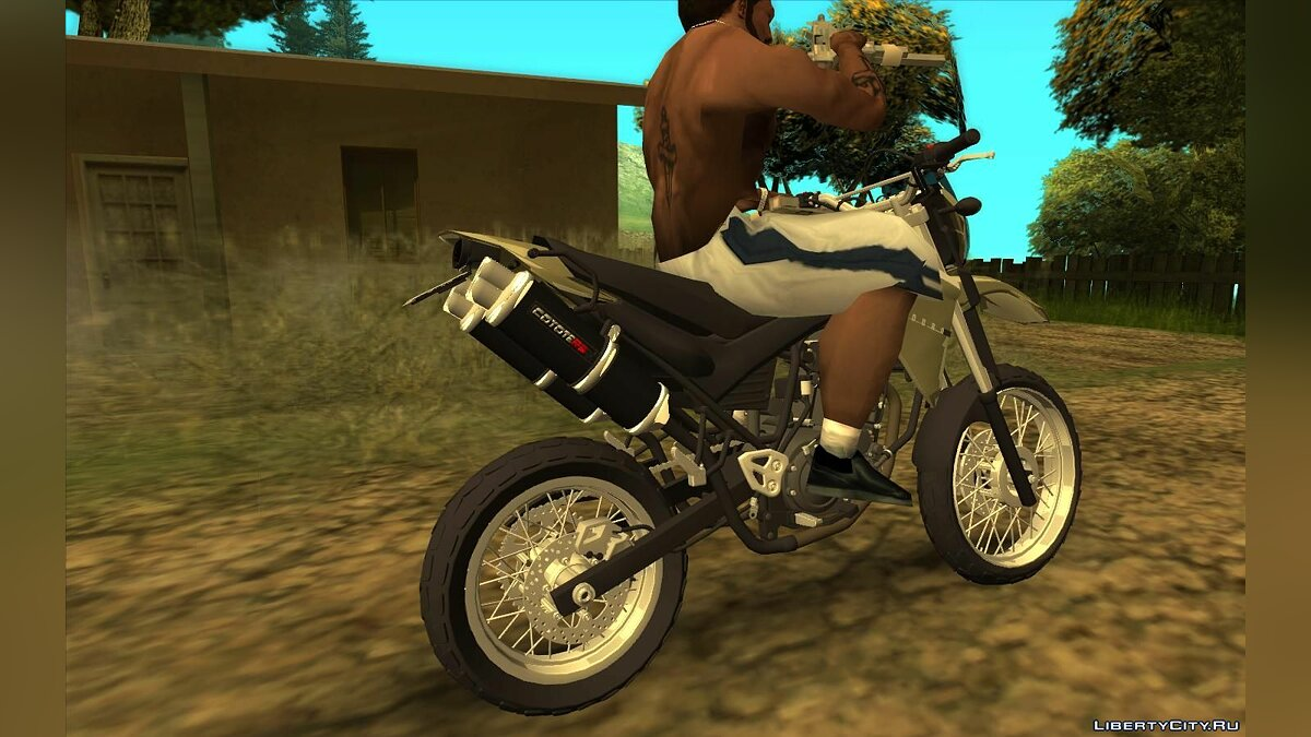Motorbike Yamaha XT 660 Enduro for GTA San Andreas