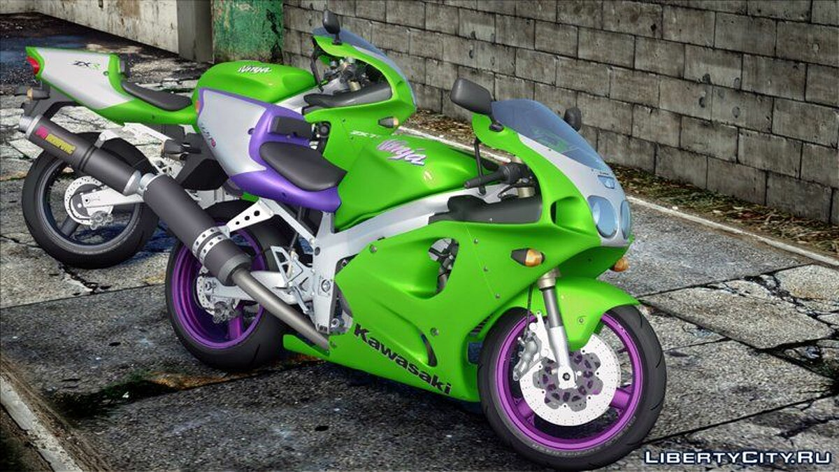 Motorbike 1996 Kawasaki ZX-7R for GTA San Andreas