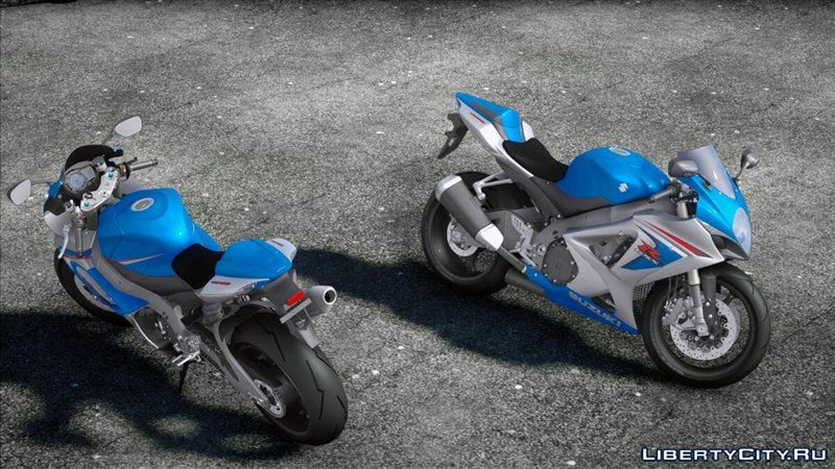 Motorbike 2007 Suzuki GSX-R1000 for GTA San Andreas