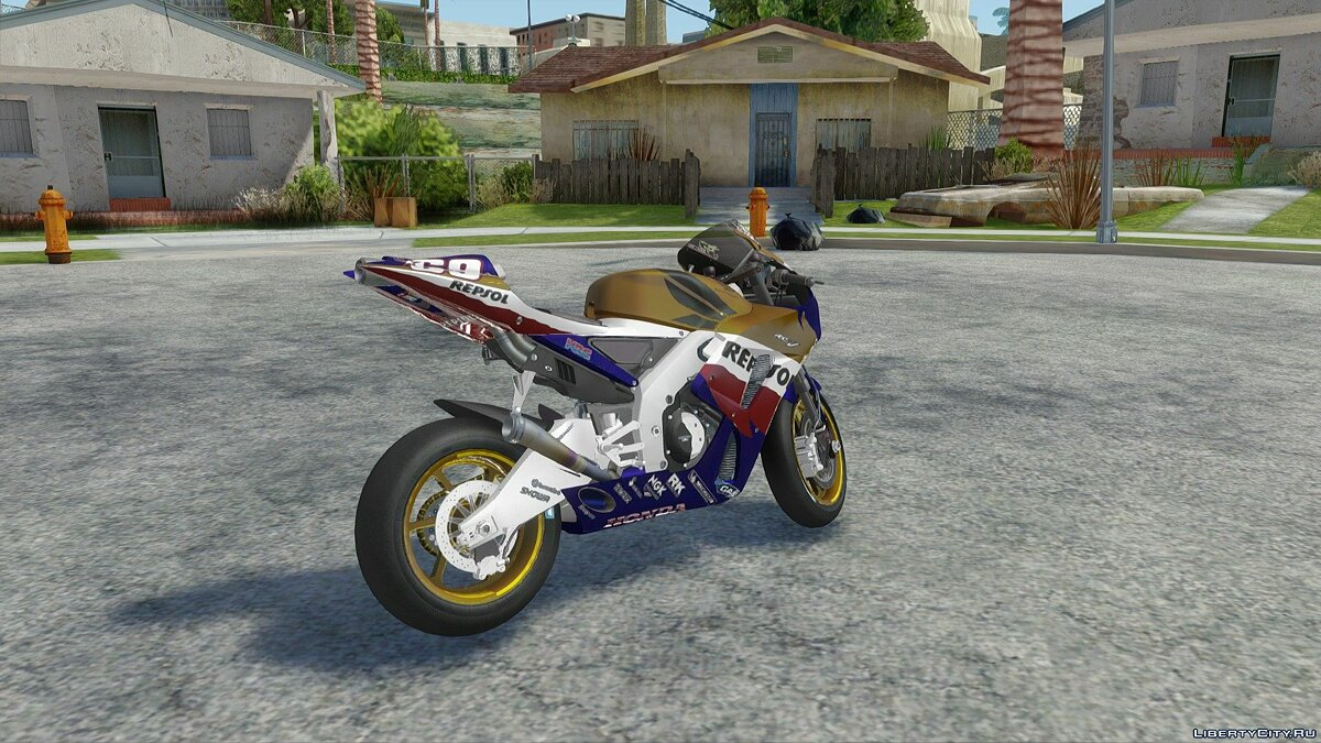 Motorbike 2006 Honda RC211V Repsol Nicky Hayden for GTA San Andreas