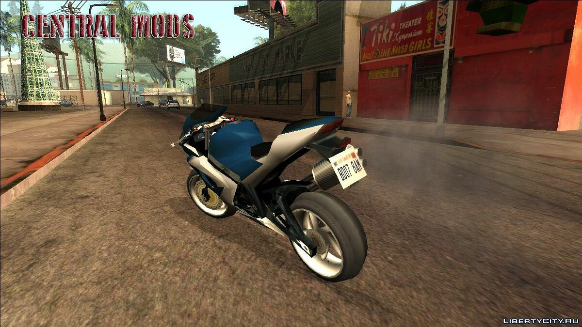 Improved version of the Suzuki GSX R1000 for GTA San Andreas - screenshot #2