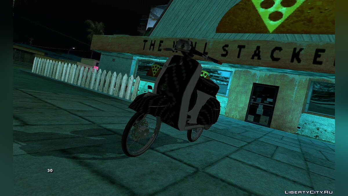 Motorbike Vespa 180SS for GTA San Andreas