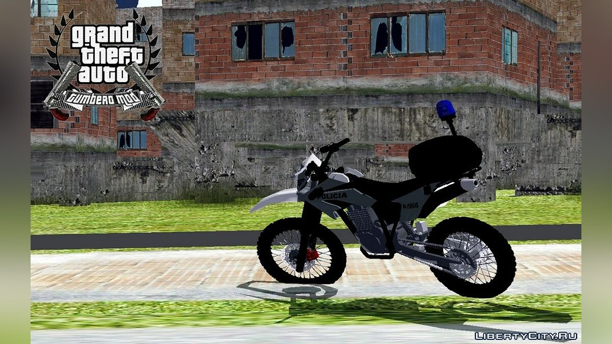 Motorbike Motorcycle police of argentina for GTA San Andreas