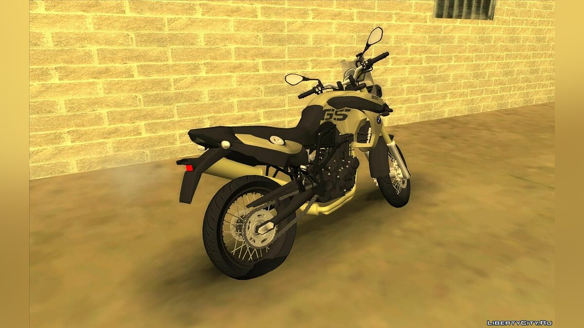 Motorbike BMW F800 GS for GTA San Andreas