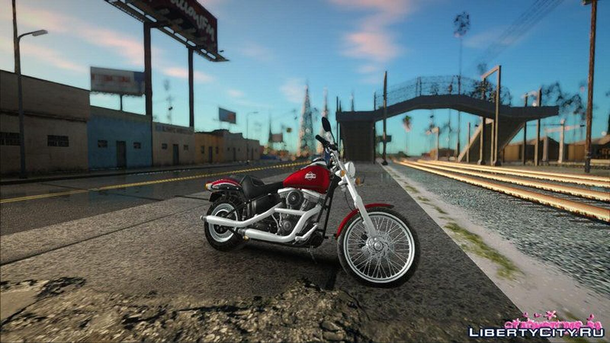 Harley Davidson FXSTB 1998 Night Train for GTA San Andreas