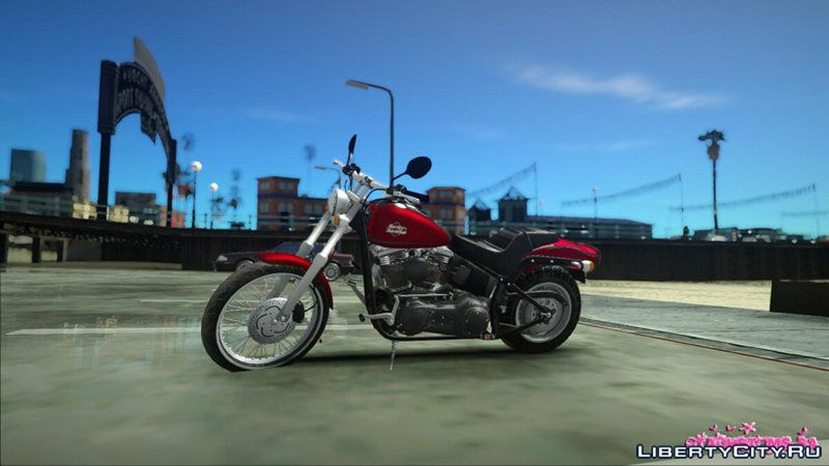 Harley Davidson FXSTB 1998 Night Train for GTA San Andreas - screenshot #2