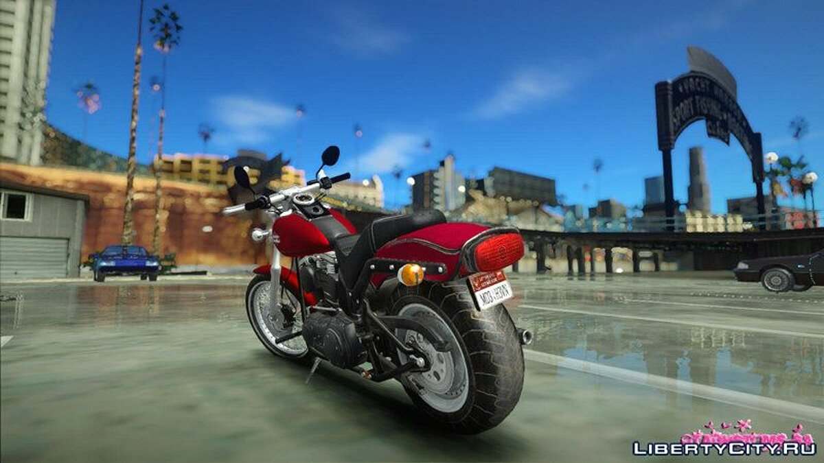 Harley Davidson FXSTB 1998 Night Train for GTA San Andreas - screenshot #3