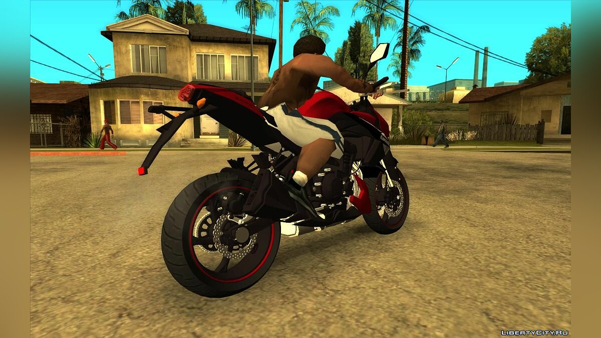 Motorbike Kawasaki Z1000 2013 for GTA San Andreas