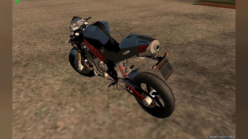 Motorbike Benelli TNT Cafe Racer for GTA San Andreas