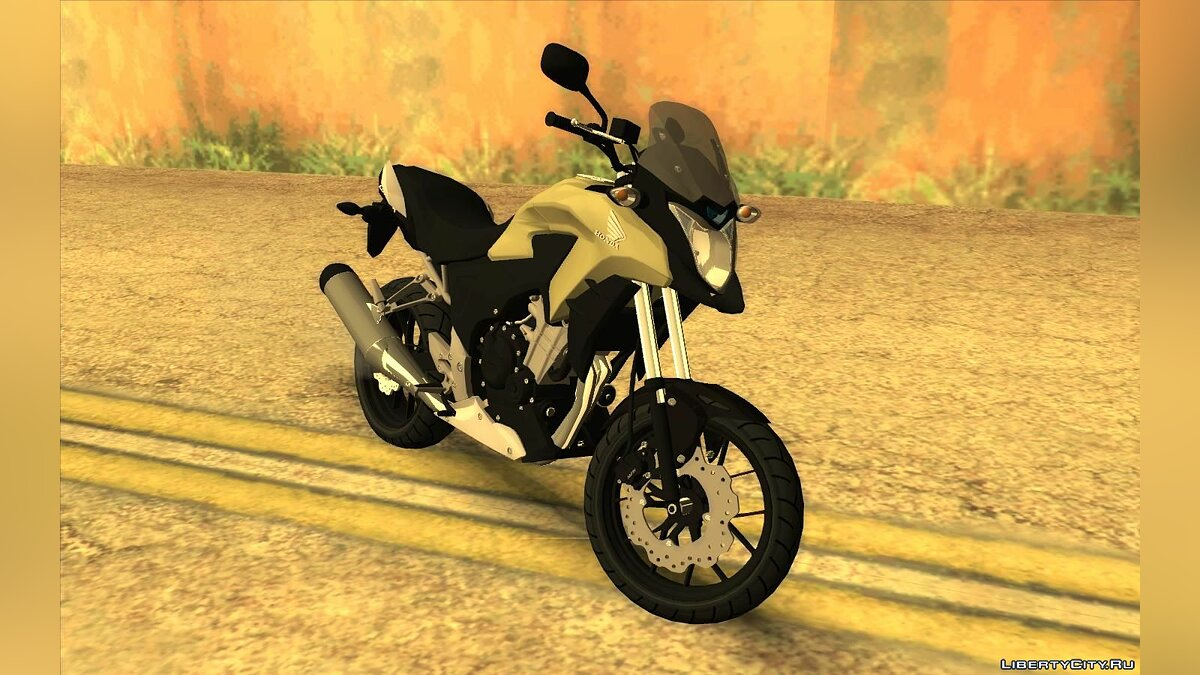 Motorbike Honda Cb 500X for GTA San Andreas