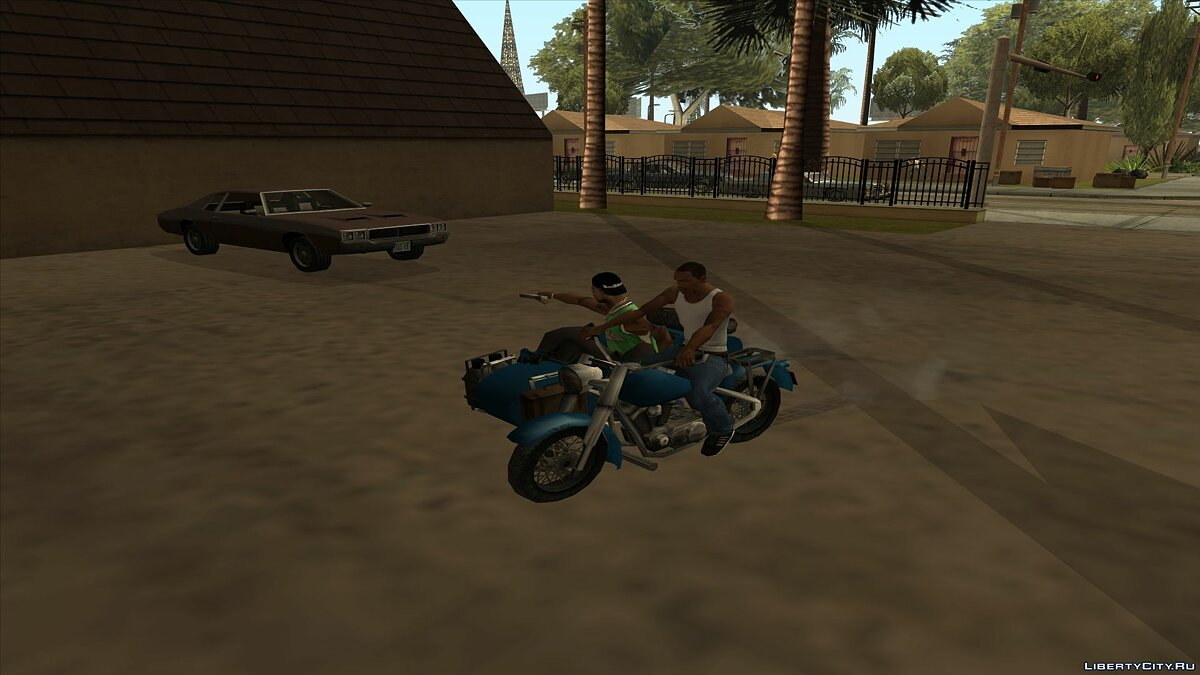 Threesome [Civil and Army] for GTA San Andreas - screenshot #6