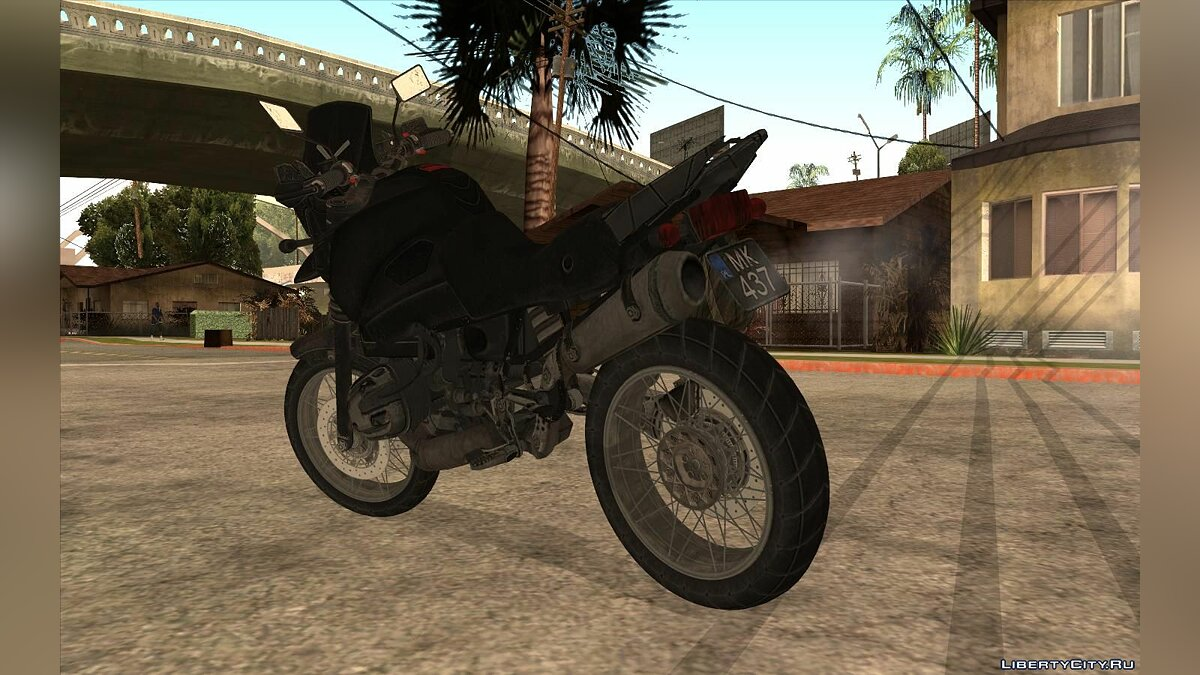 Motorbike Motorcycle from the game PUBG for GTA San Andreas