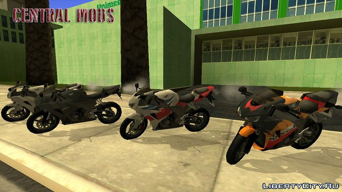 Motorbike Honda CBR 1000RR for GTA San Andreas