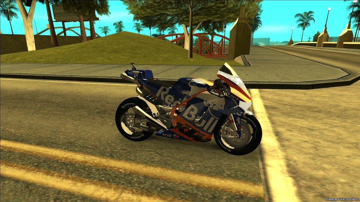 Motorbike [2019] KTM RC16 RED BULL TECH3 [Android / PC] for GTA San Andreas