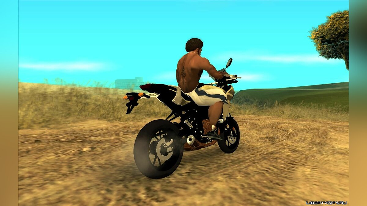 Motorbike Yamaha Tracer 700 for GTA San Andreas