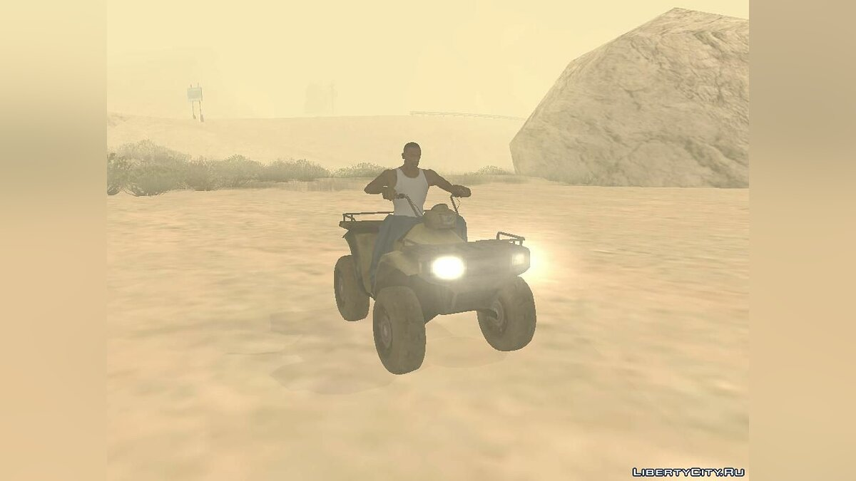 Quad ATV from Battlefield 2: Special Forces for GTA San Andreas - Картинка #6