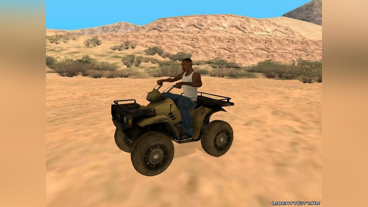 Quad ATV from Battlefield 2: Special Forces for GTA San Andreas - Картинка #7