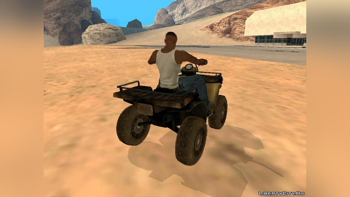 Quad ATV from Battlefield 2: Special Forces for GTA San Andreas - Картинка #3