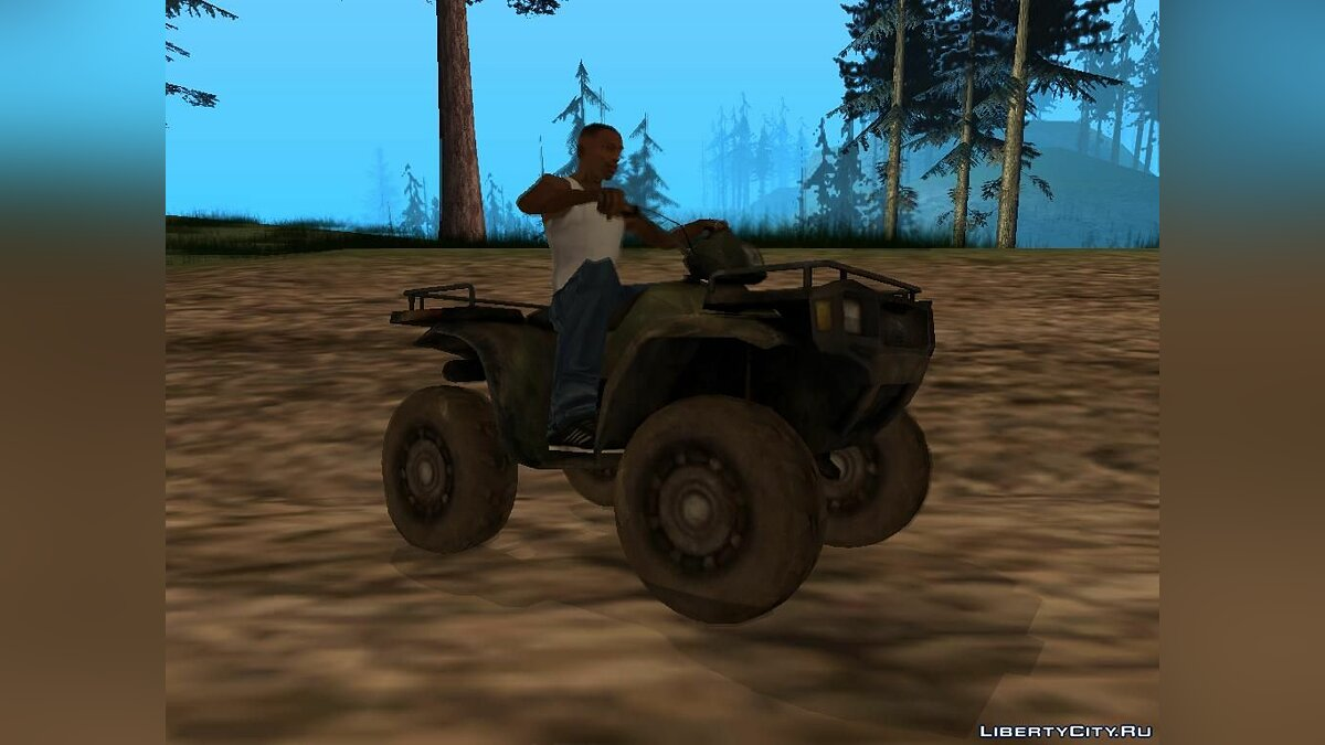 Quad ATV from Battlefield 2: Special Forces for GTA San Andreas - Картинка #5