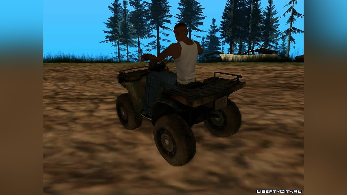 Quad ATV from Battlefield 2: Special Forces for GTA San Andreas - Картинка #4