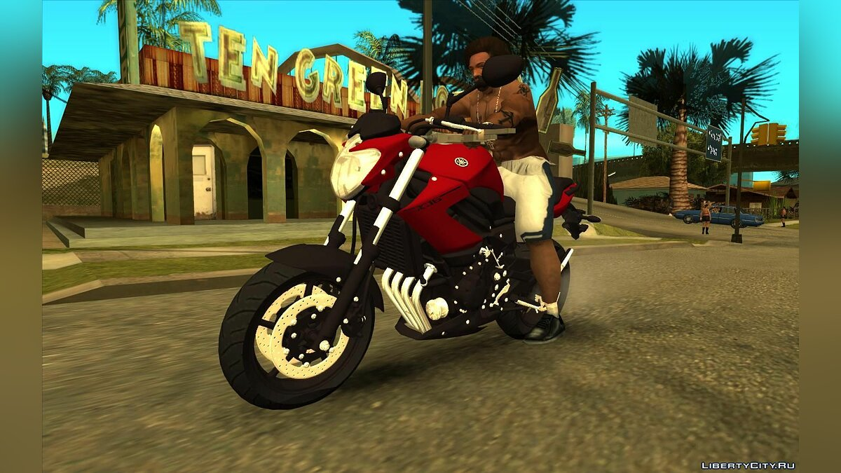 Motorbike Yamaha XJ6 2013 for GTA San Andreas