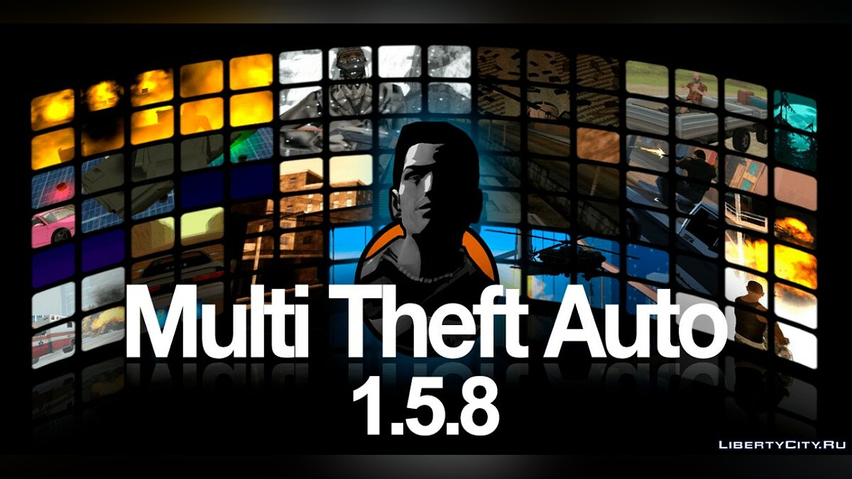 Client Multi Theft Auto 1.5.8 (MTA: SA) - Server and Client for Win7-10 for GTA San Andreas