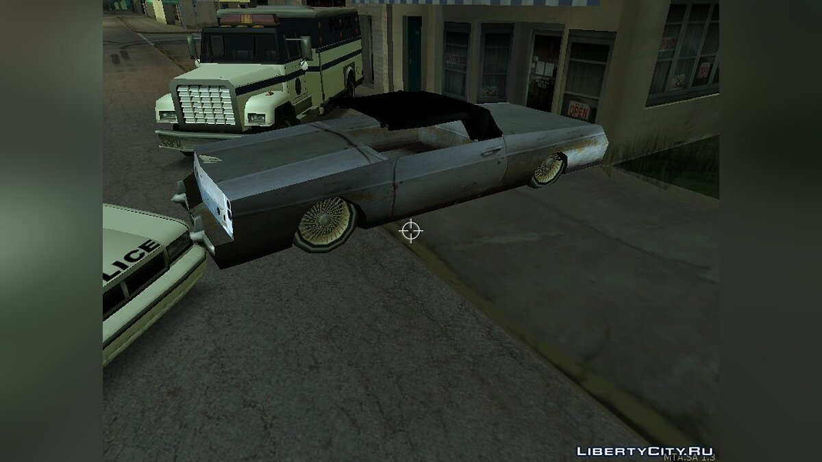 Map Carshow for GTA San Andreas