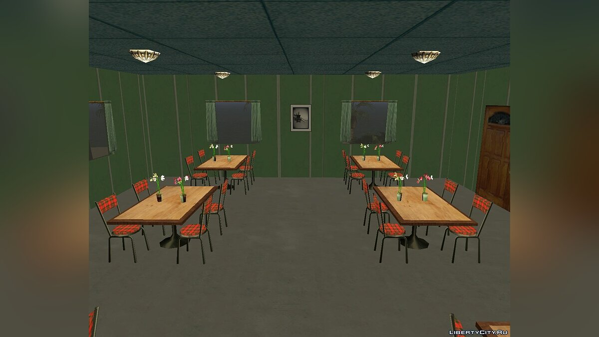 Map MAP №1 - Dining room