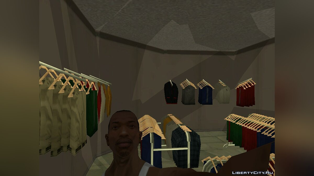 Map [MAP] Clothes shop for GTA San Andreas