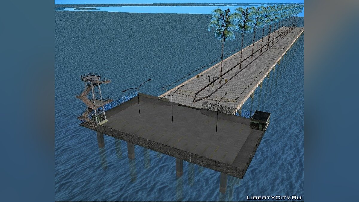 Map [SA: MP] Track for drag racing for GTA San Andreas