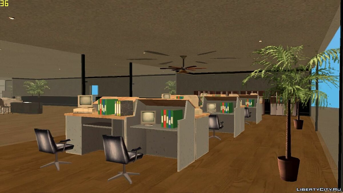 Map Office in Los Santos for GTA San Andreas