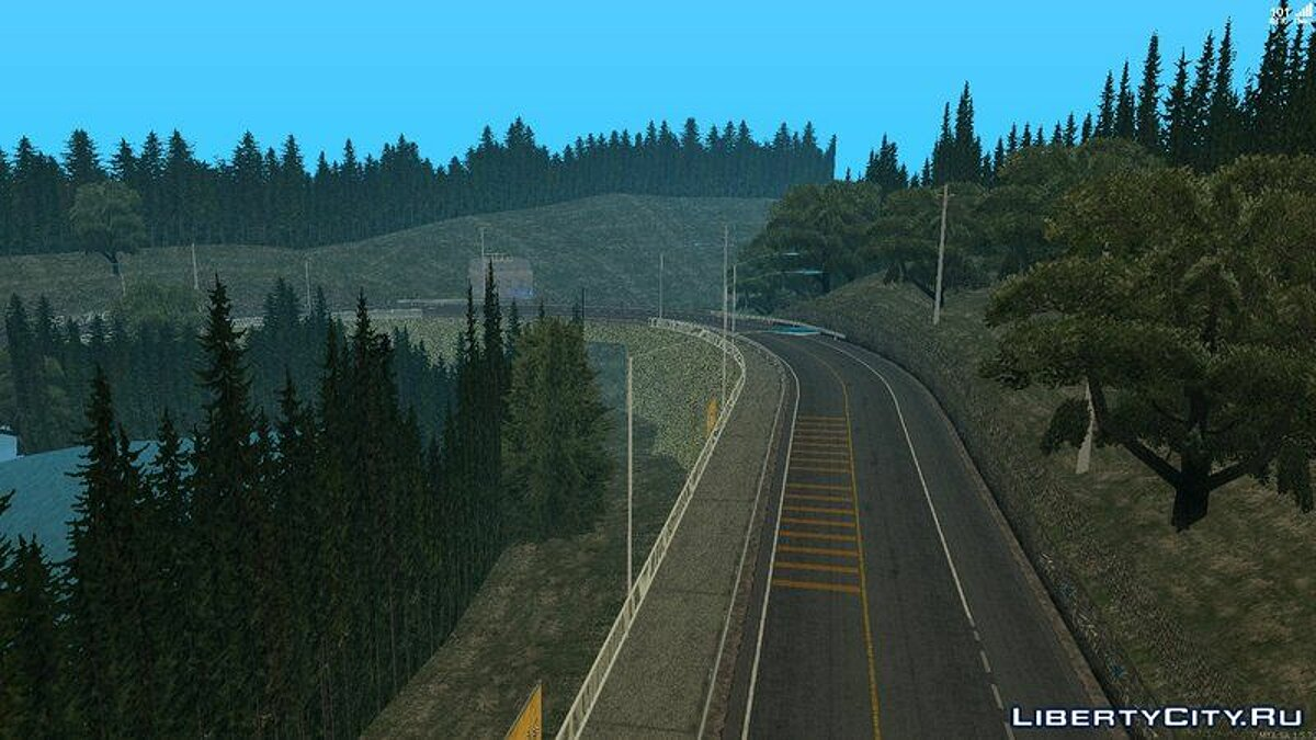 Map Route Mt.Akina for GTA San Andreas