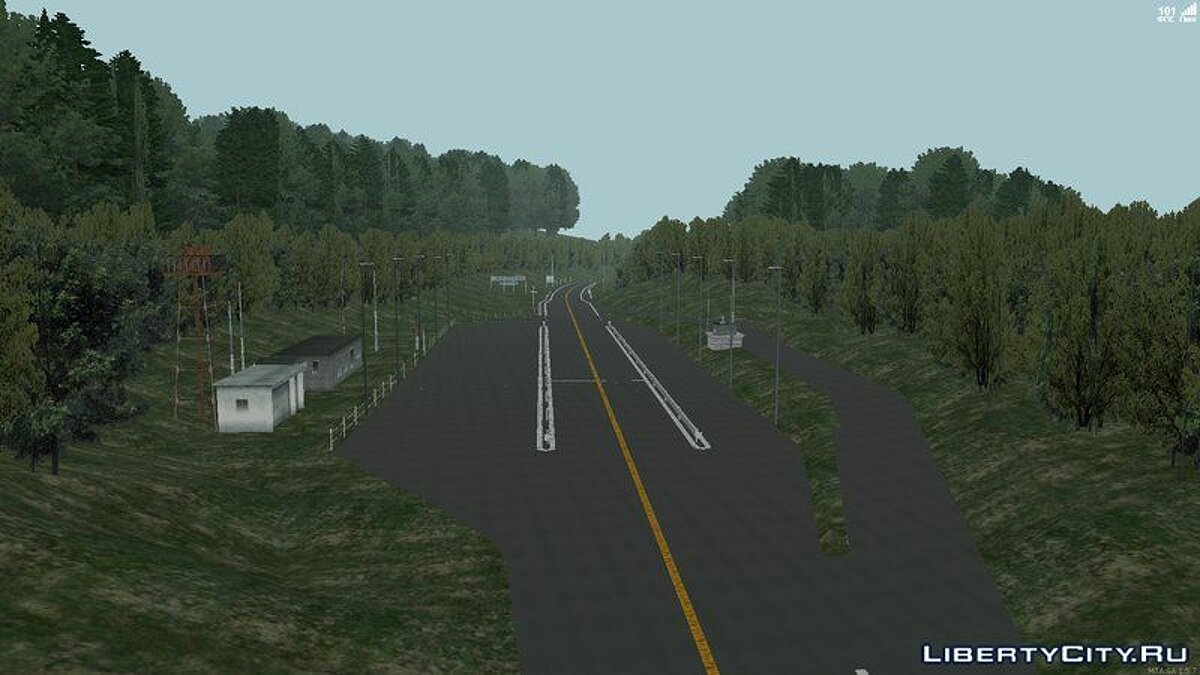 Map Akina Mountain Touge v1.2 (MTA: SA) for GTA San Andreas