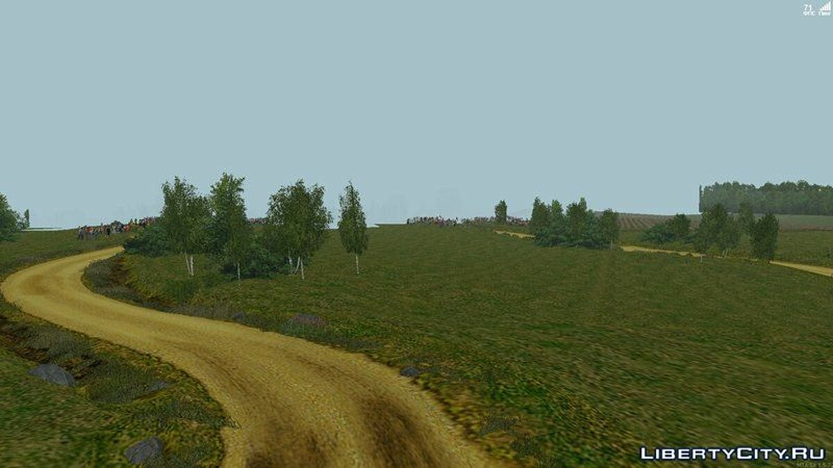 Map Rally Poland (MTA only) for GTA San Andreas