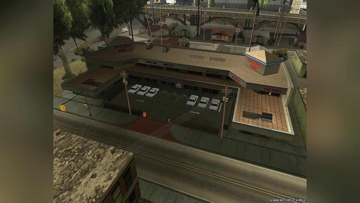 Map IS CARDS # 2: Driving School (Exterior) for GTA San Andreas