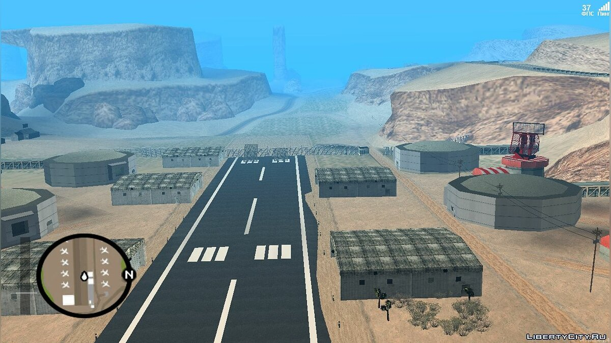 Map New Airport LV for GTA San Andreas