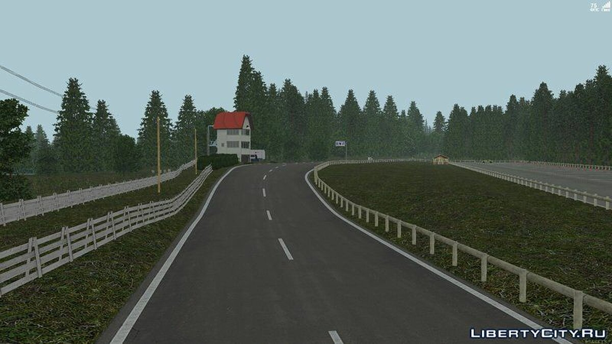 Map Gunsai Touge (MTA only) for GTA San Andreas