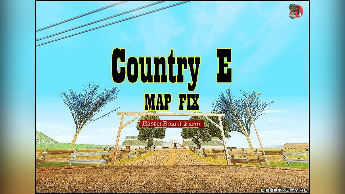 Map Country E - фикс карты for GTA San Andreas