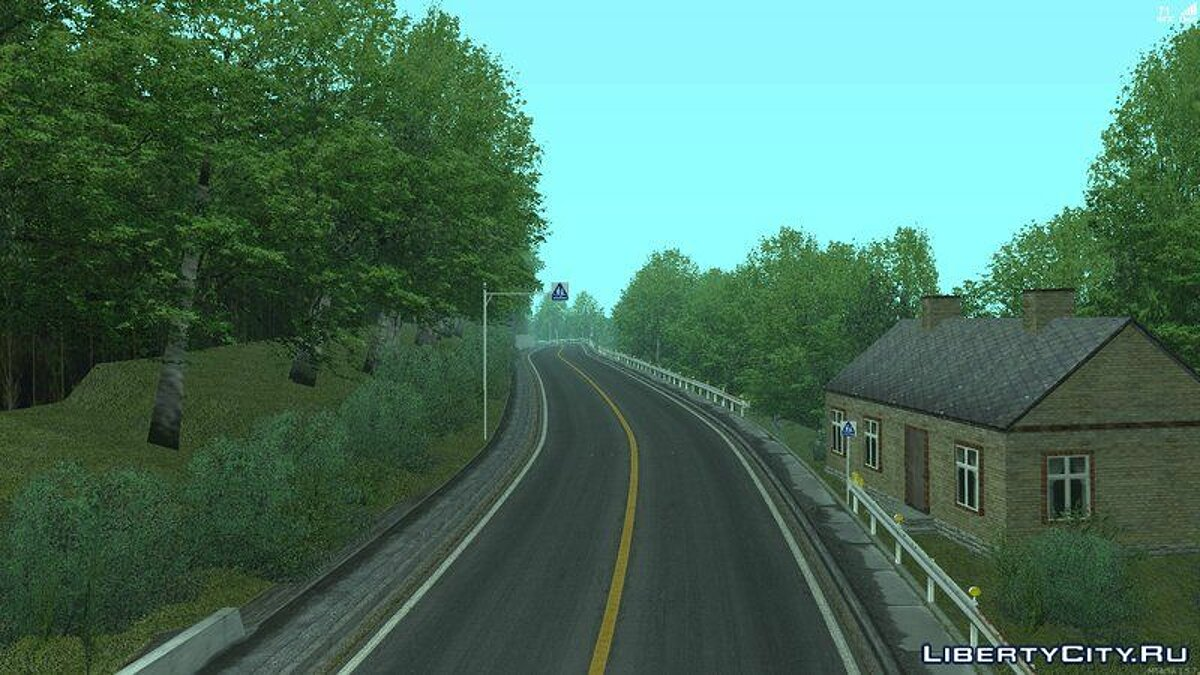 Map Route Mt.Myogi for GTA San Andreas
