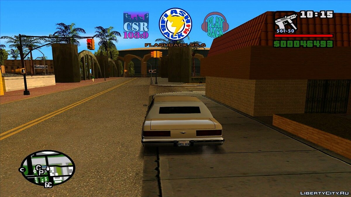 Music mod Rádios do GTA Vice City for GTA San Andreas