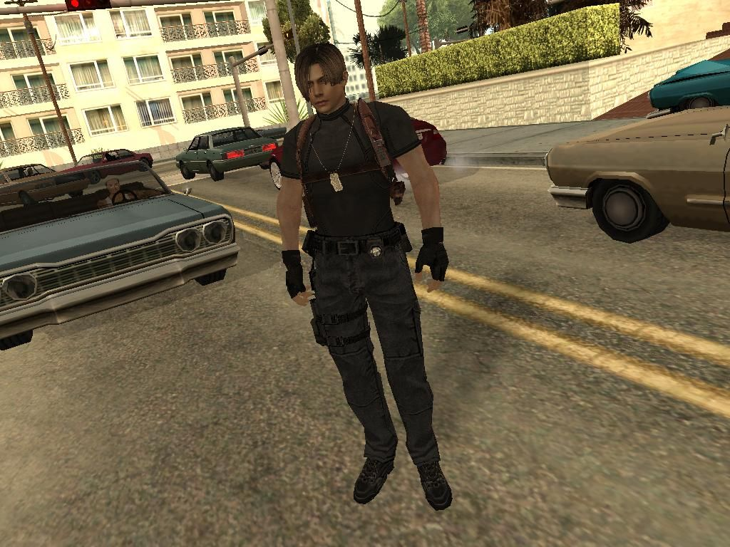 Leon mod HD beta for GTA San Andreas