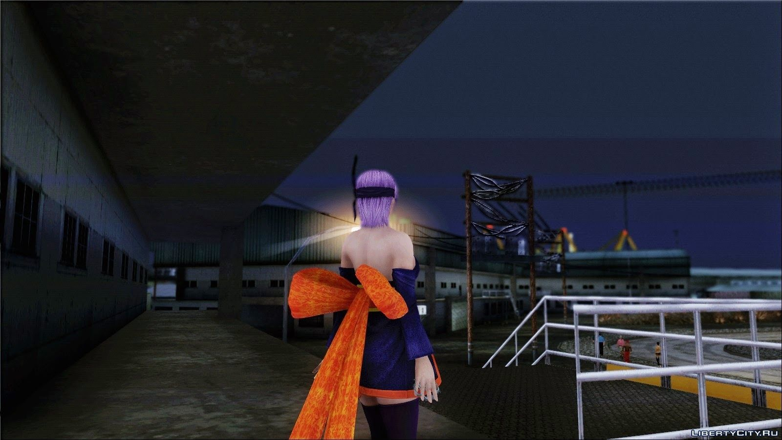 ayane from dead or alive series for gta san andreas