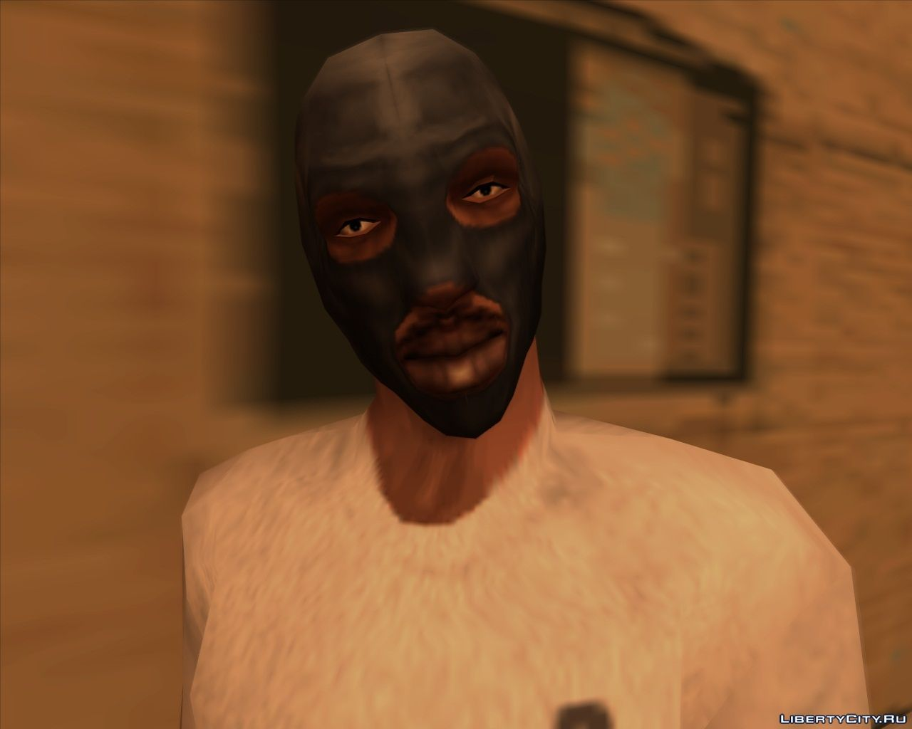 The Face Of Cj As In The Early Beta Alpha Version For