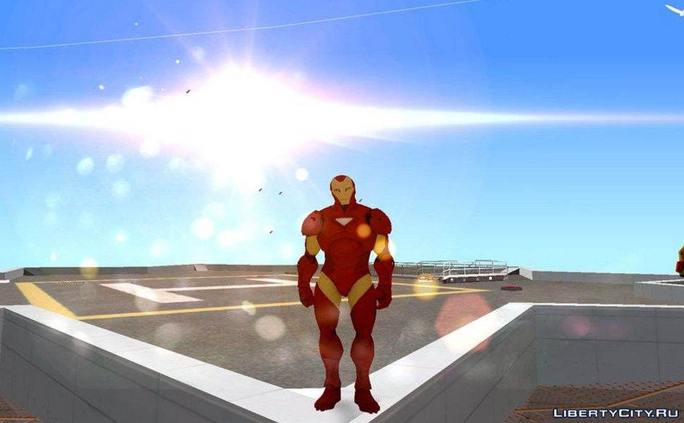 Iron Man from the game Marvel Ultimate Alliance 2 for GTA