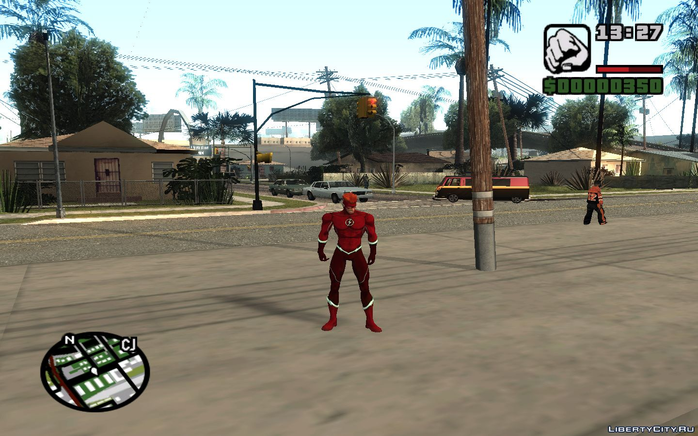 Injustice Gods Among Us: Wally West for GTA San Andreas