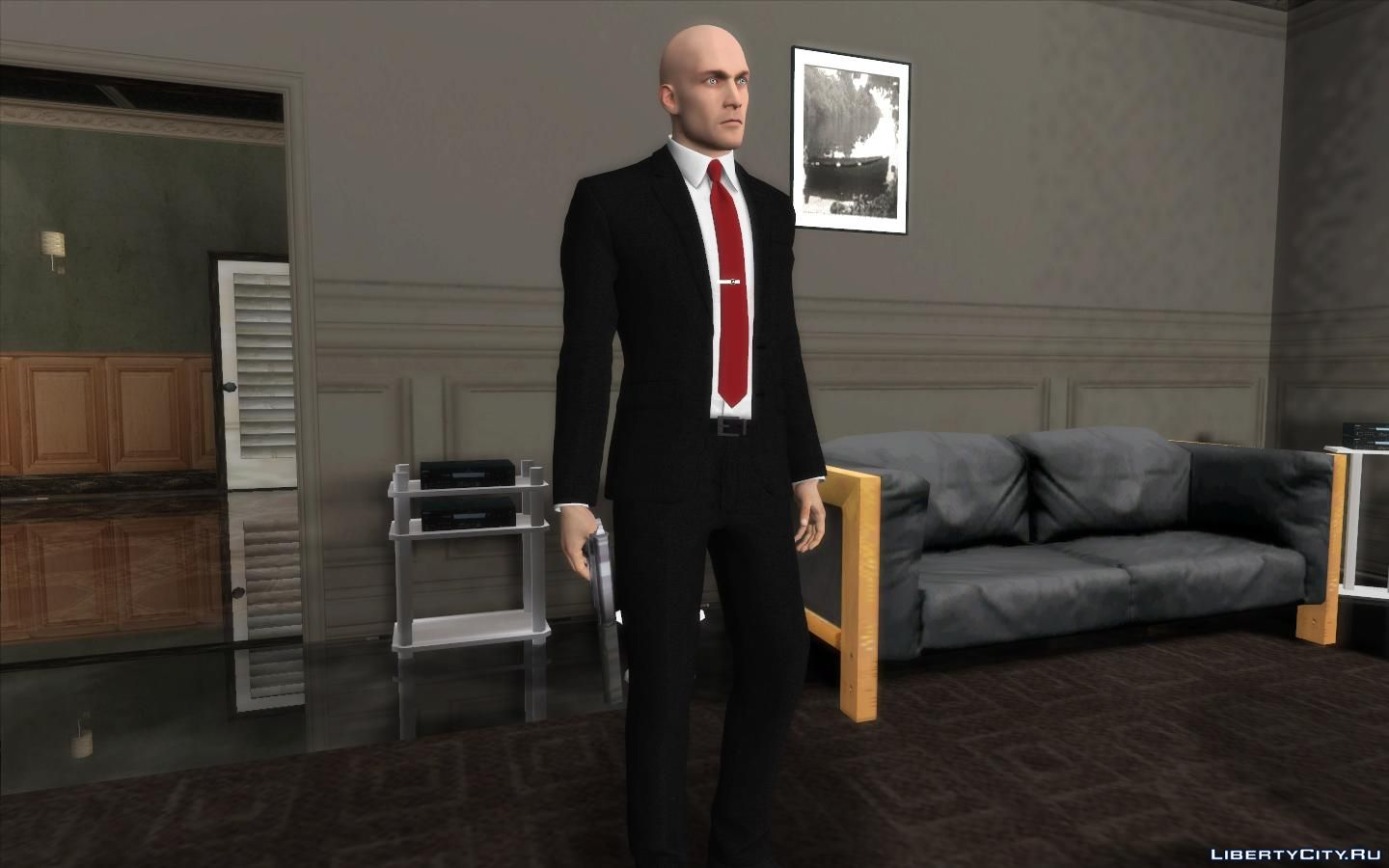Agent 47 From Hitman 2016 For Gta San Andreas