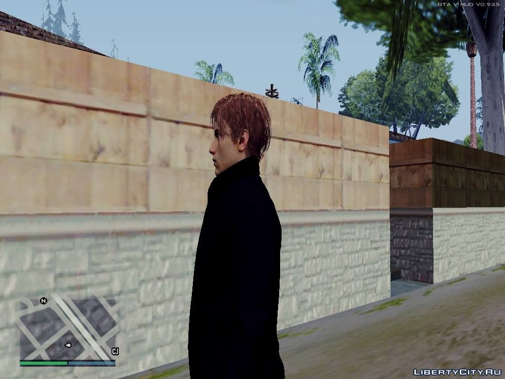 Leon S  Kennedy of Resident Evil 2 Remake for GTA San Andreas