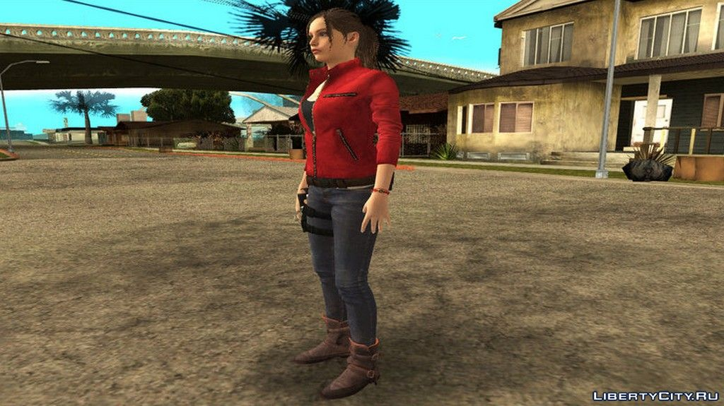 Claire Redfield RE Nude for GTA San Andreas