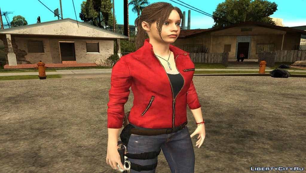 Claire Redfield Sex Agent for GTA San Andreas