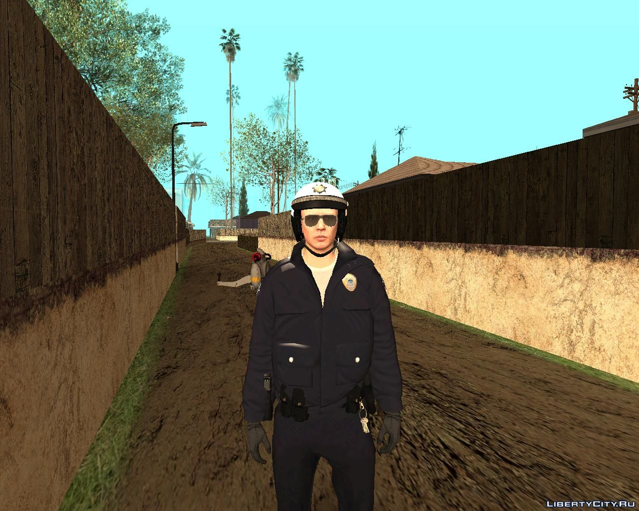 Replacement of lapdm1 dff in GTA San Andreas (44 file)